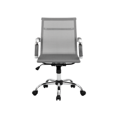 Eames Mid Back Mesh Office Chair - Grey - Image 1