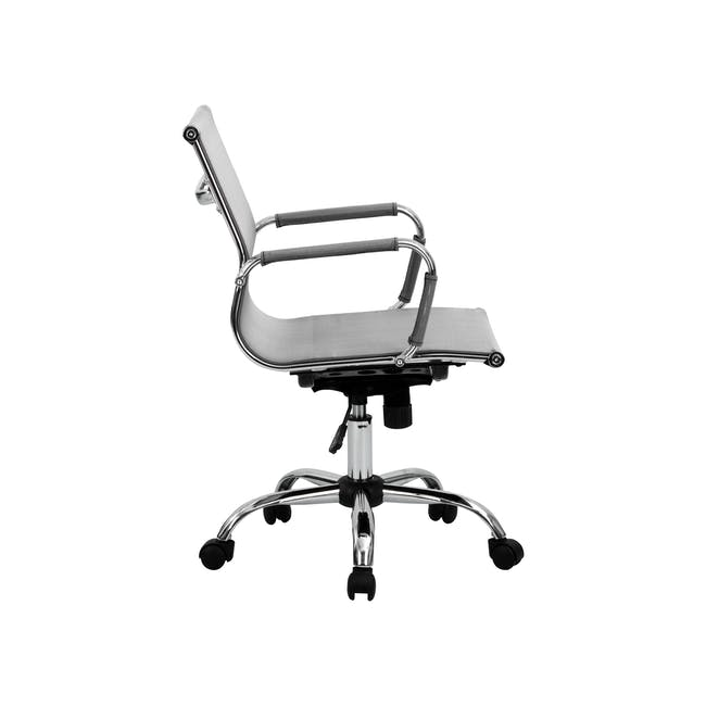Eames Mid Back Mesh Office Chair Replica - Grey - 7