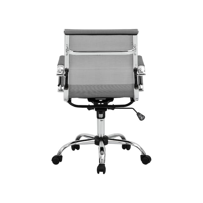 Eames Mid Back Mesh Office Chair Replica - Grey - 8