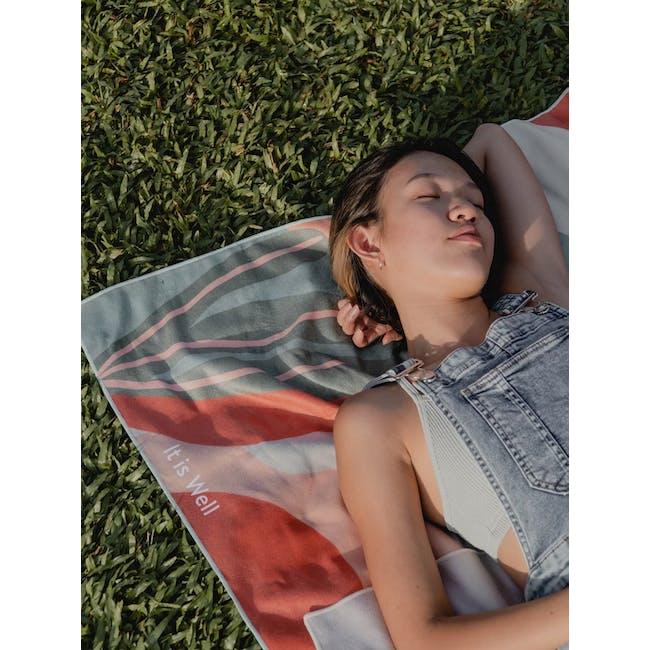 It is Well Summer Towel - Breeze - 1