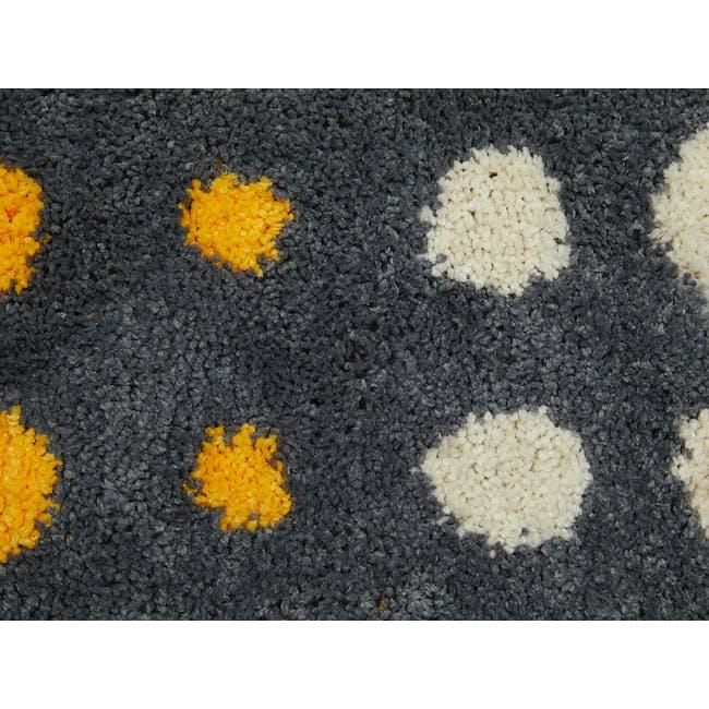 Retro Dots Floor Mat - Grey - 2
