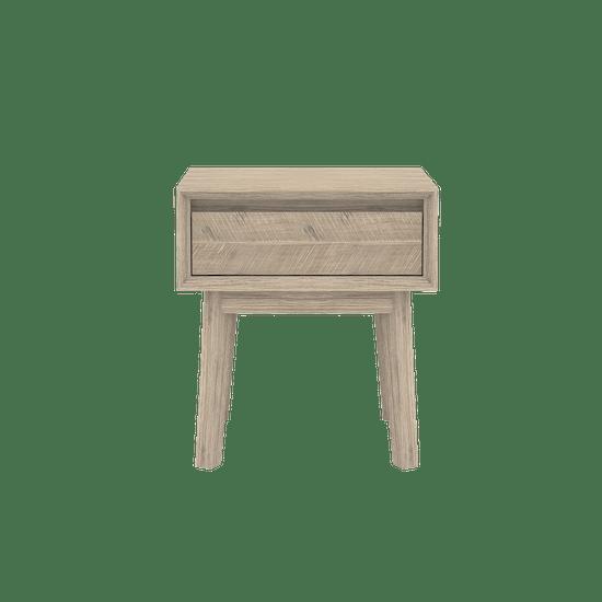 HipVan Bundles - Leland Queen Bed with 2 Leland Single Drawer Bedside Tables