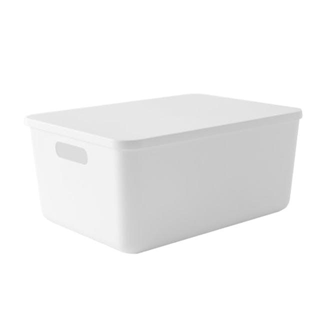 Lussa Storage Box with Lid - XL - 0