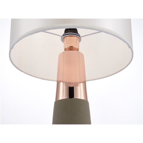 Rosa Oro - Evelyn Table Lamp - Copper