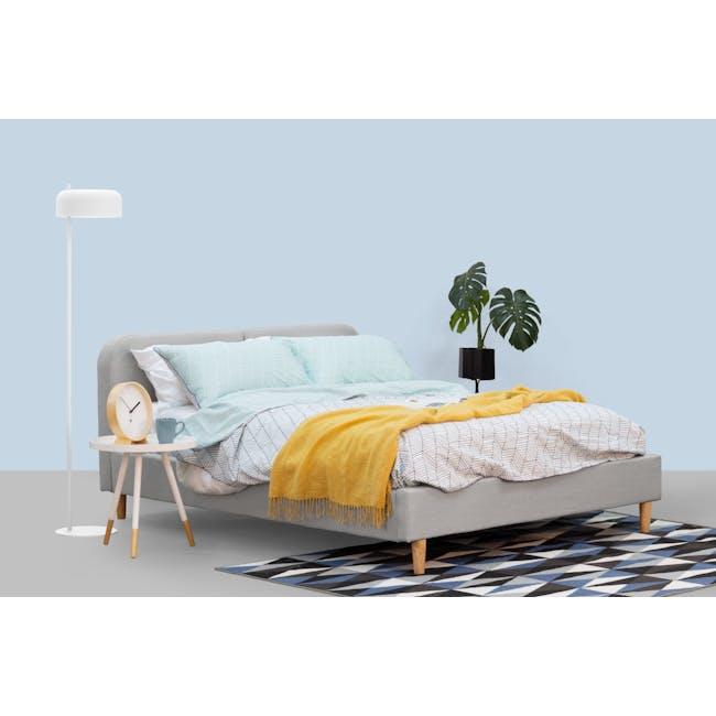 Bridget Floor Lamp - White - 1