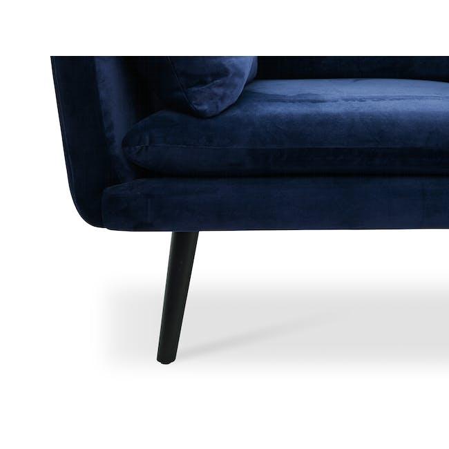 Sable 3 Seater Sofa - Peacock (Velvet) - 5