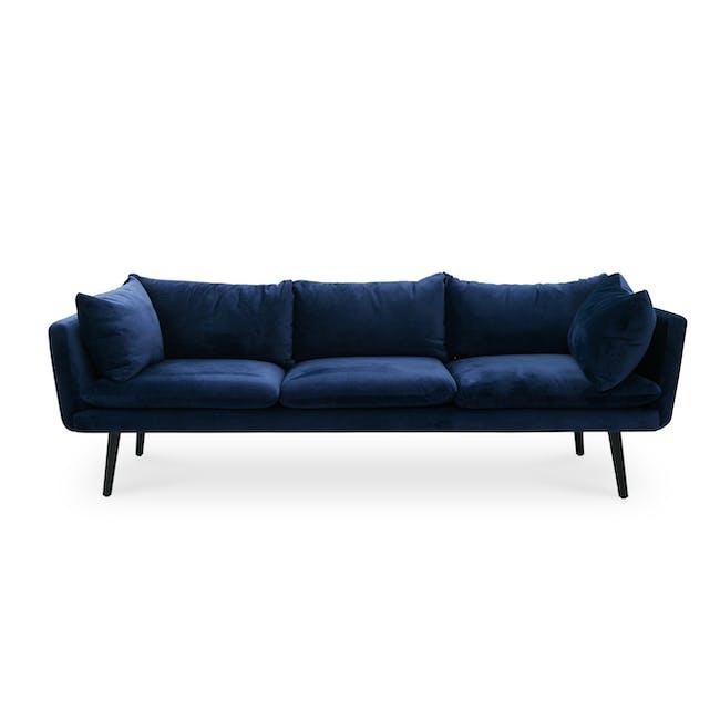 Sable 3 Seater Sofa - Peacock (Velvet) - 0