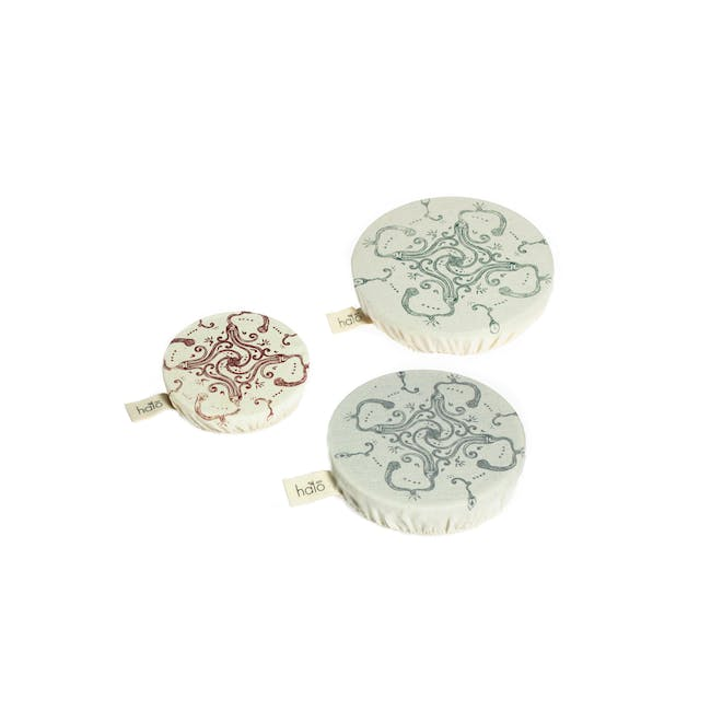 Halo Small Dish Cover Set of 3 - Utensils - 0