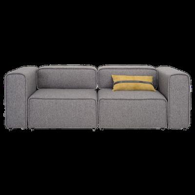Acura 2 Seater Sofa - Pebble - Image 1