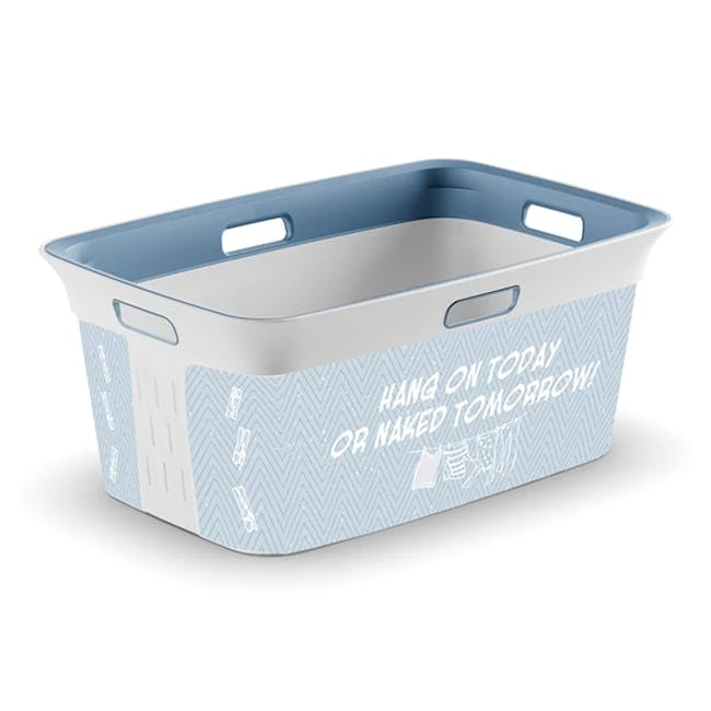 Chic Laundry Basket 45L - Witty - 0