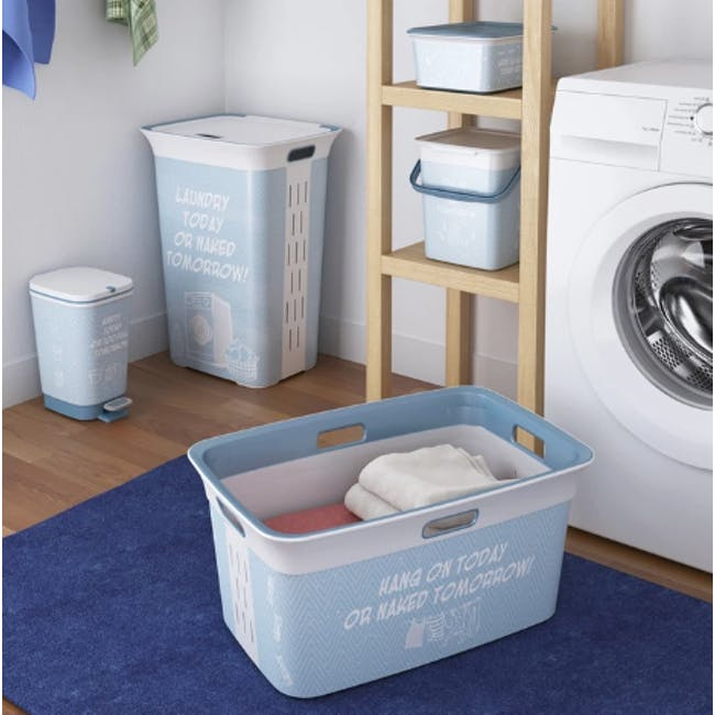 Chic Laundry Basket 45L - Witty - 1