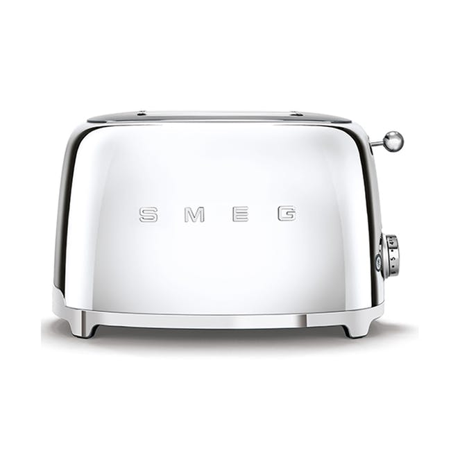 Smeg 2-Slice Toaster -Chrome - 0