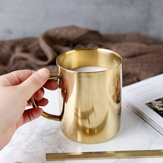 Moscow Mule Brass Mug - 1