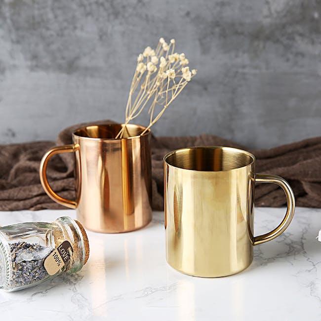 Moscow Mule Brass Mug - 3