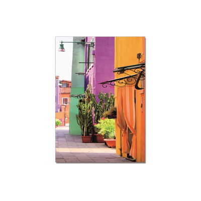 Colourful Street Printed Picture - II - Image 2