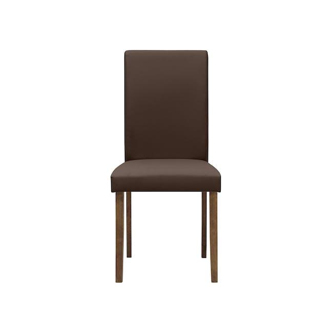 Dahlia Dining Chair - Cocoa, Mocha (Faux Leather) - 2