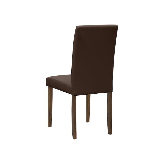 Dahlia Dining Chair - Cocoa, Mocha (Faux Leather) - 4