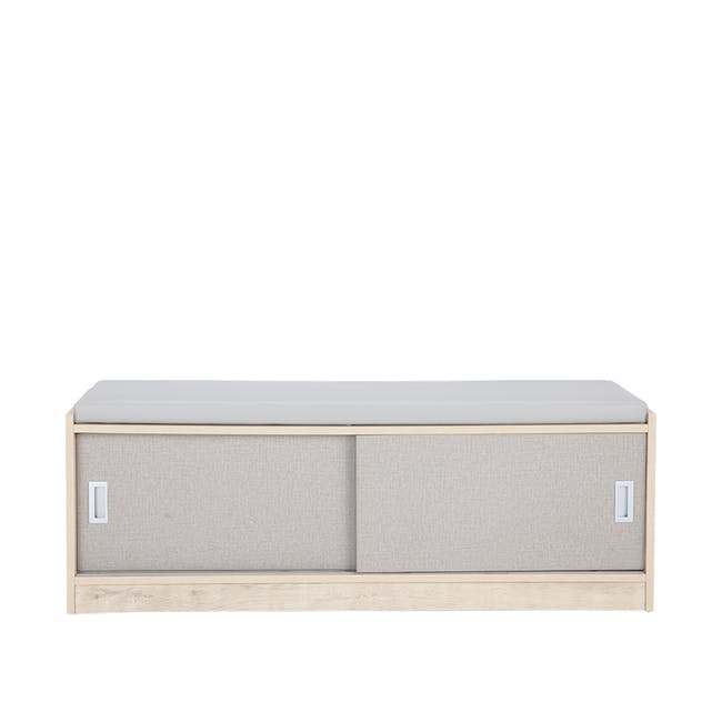 Echo Shoe Cabinet - Oak - 7