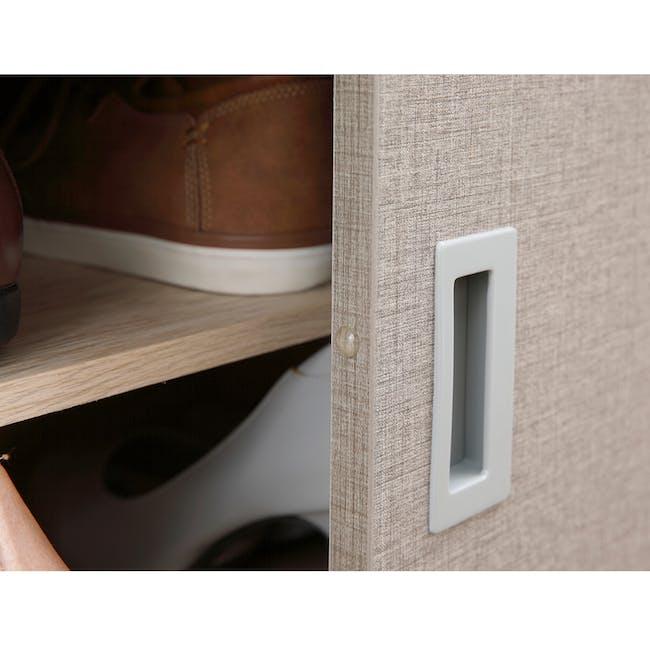 Echo Shoe Cabinet - Oak - 4