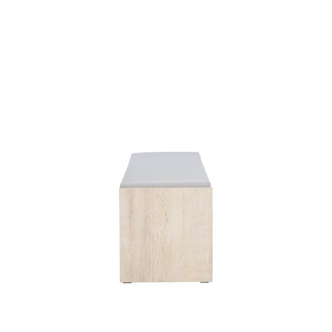 Echo Shoe Cabinet - Oak - 8