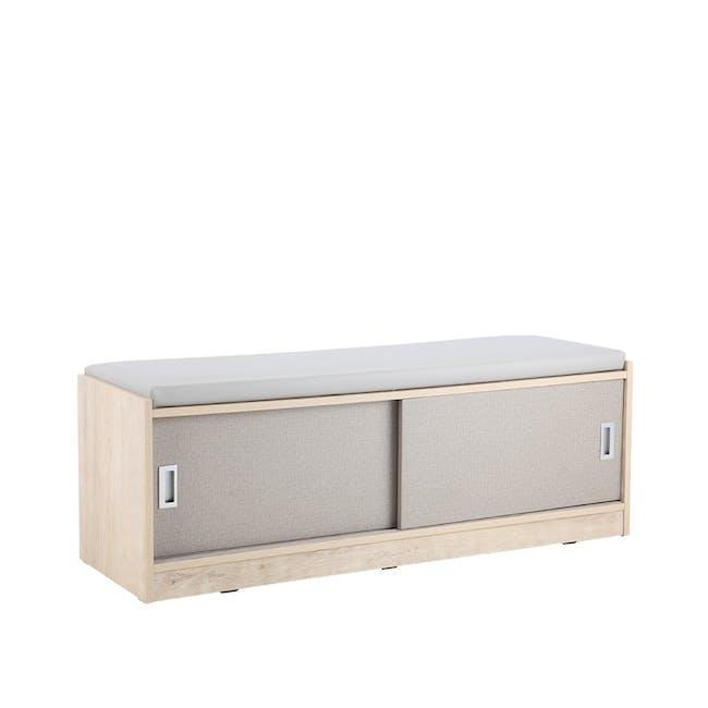 Echo Shoe Cabinet - Oak - 0