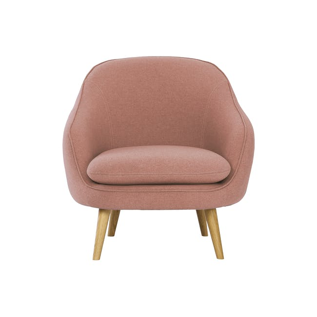 Quinn 2 Seater Sofa with Quinn Armchair - Burnt Umber - 1