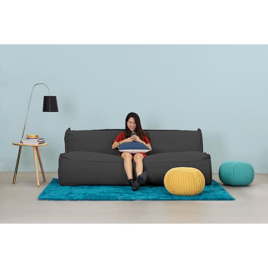Arreda - Yume 3 Seater Sofa - Granite