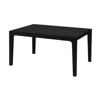 (As-is) Cole Dining Table 1.5m - Black Ash - 1 - Image 1
