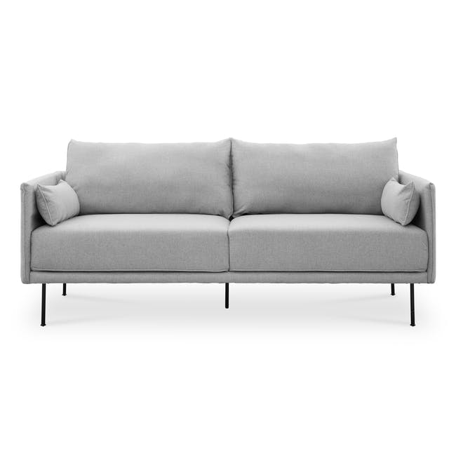 Emerson 3 Seater Sofa - Slate - 0