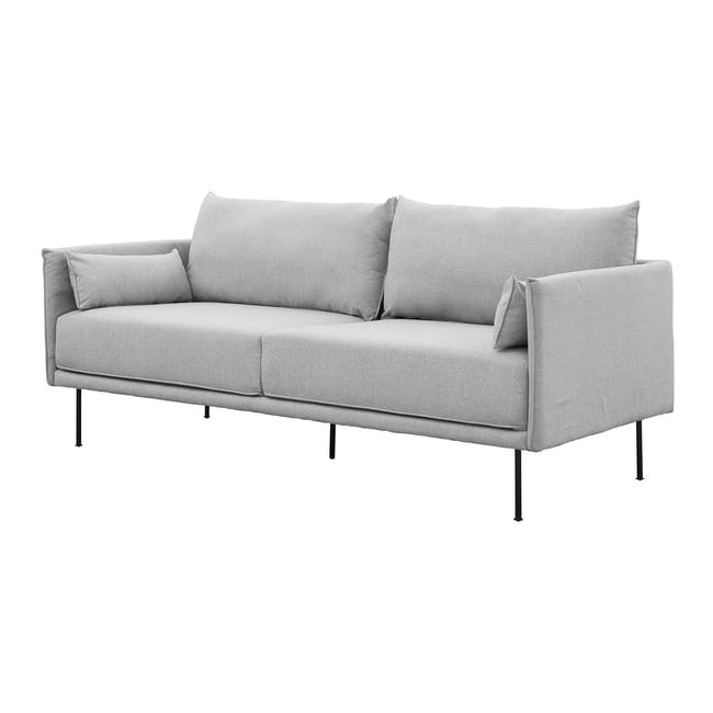 Emerson 3 Seater Sofa - Slate - 2