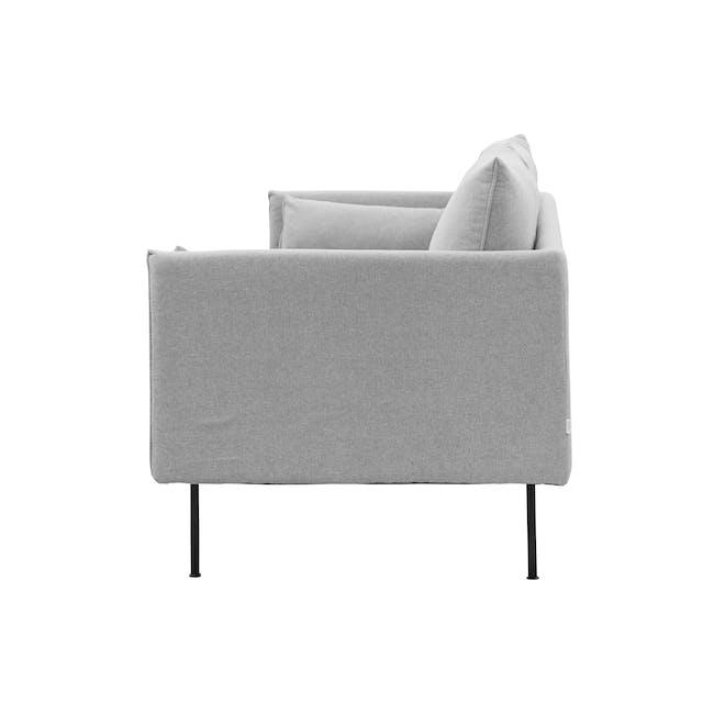 Emerson 3 Seater Sofa - Slate - 4