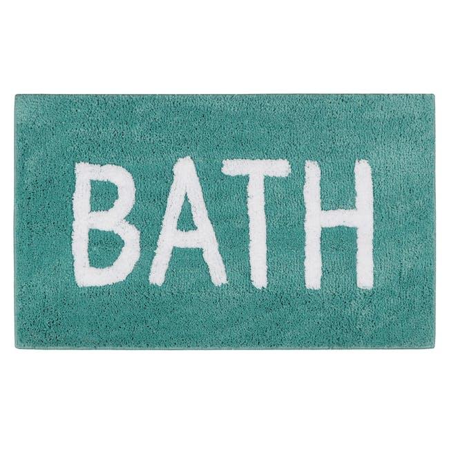 Sarah Floor Mat - Bath Turquoise - 0