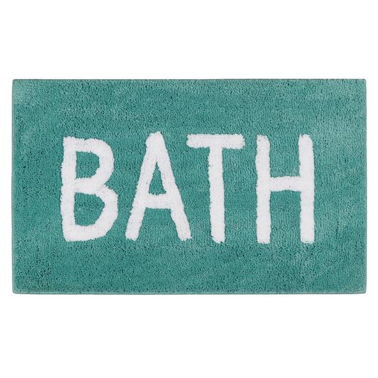 1688 - Sarah Mat 45 x 65 cm - Bath Turquoise