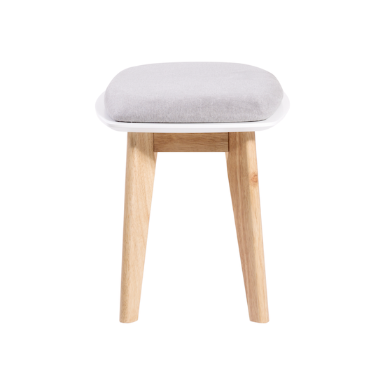 Shape - Harold Bench 1m - Natural, Grey