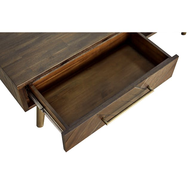 Cadencia Twin Drawer Coffee Table with Cadencia Side Table - 11