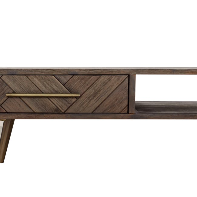Cadencia Twin Drawer Coffee Table with Cadencia Side Table - 12