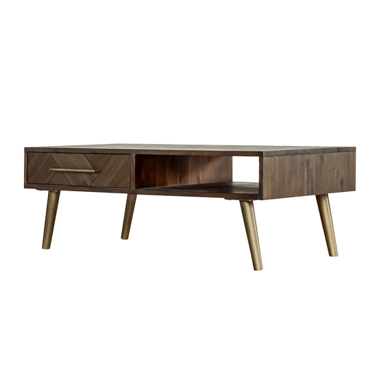 Cadencia by HipVan - Cadencia Twin Drawer Coffee Table