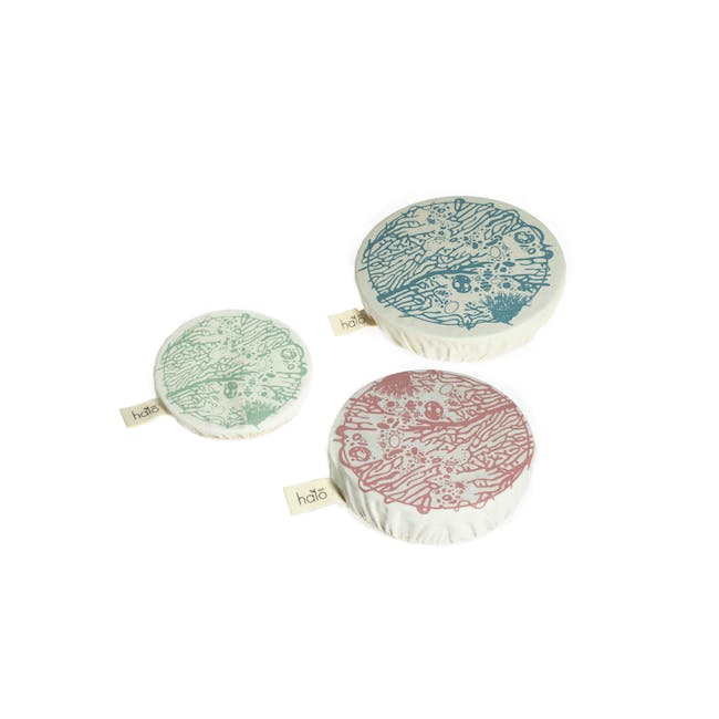 Halo Small Dish Cover Set of 3 - Beach House - 0