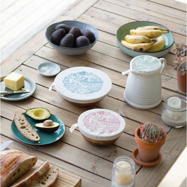 Halo Small Dish Cover Set of 3 - Beach House - 1