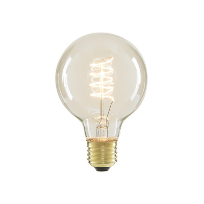 Edison G80 Spiral Globe Filament Bulb - Image 2