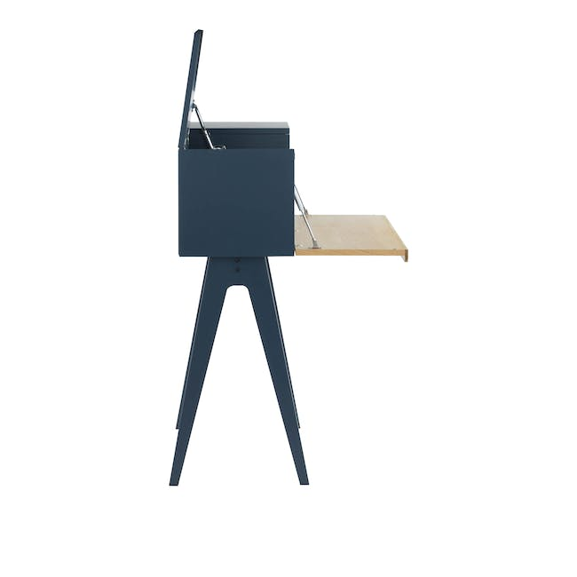 Valen Study Table - Space Blue - 4