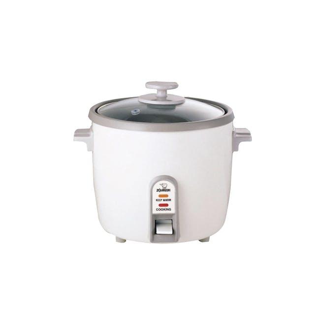 Zojirushi Traditional Rice Cooker NH-SQ - White (3 Sizes) - 1
