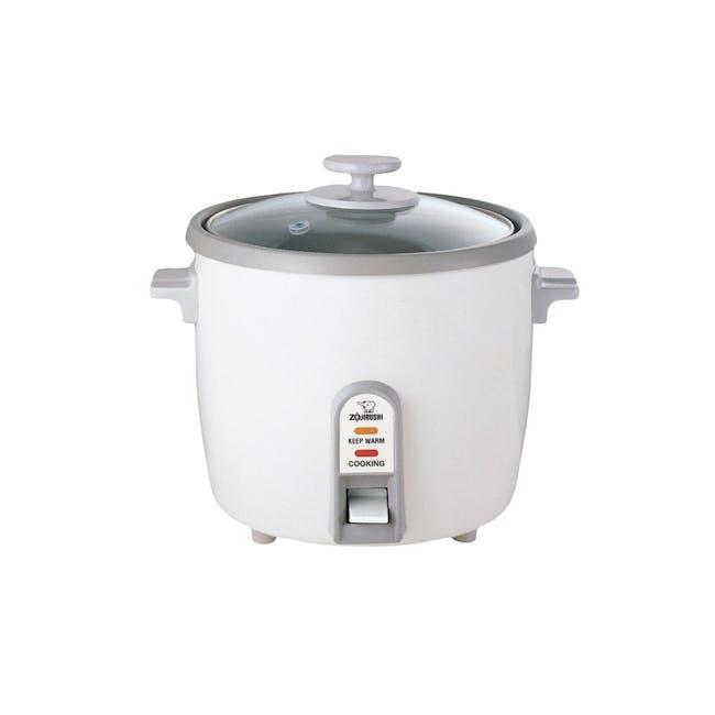 Zojirushi Traditional Rice Cooker NH-SQ - White (3 Sizes) - 2