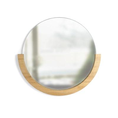 Mira Round Mirror 53 cm - Natural - Image 2