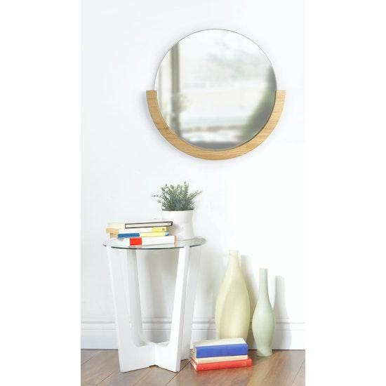 Umbra - Mira Round Mirror 53 cm - Natural