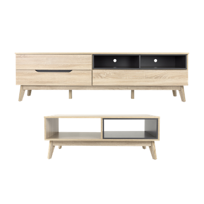 Parker TV Console 1.8m with Parker Coffee Table - Image 1