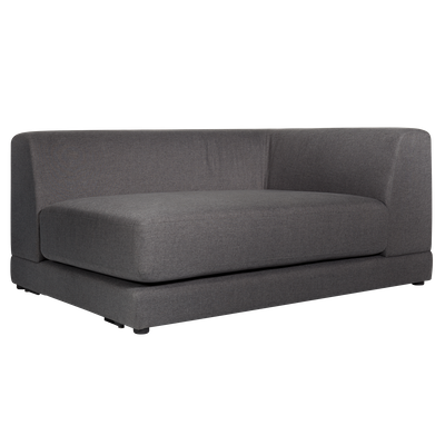 Abby Right Arm Chaise Sofa - Granite - Image 2