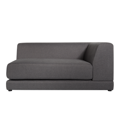 Abby Right Arm Chaise Sofa - Granite - Image 1