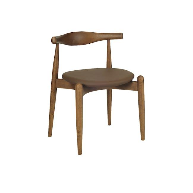 (As-is) Bouvier Dining Chair - Walnut, Mocha - 1 - 0