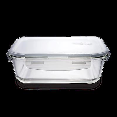 PICNIC Rectangular Glass Food Storage with Lid - 1040 ml - Image 1